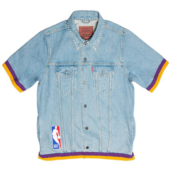 Just Don x Levi's® All-Star Trucker Jacket S/S (Purple/Yellow)
