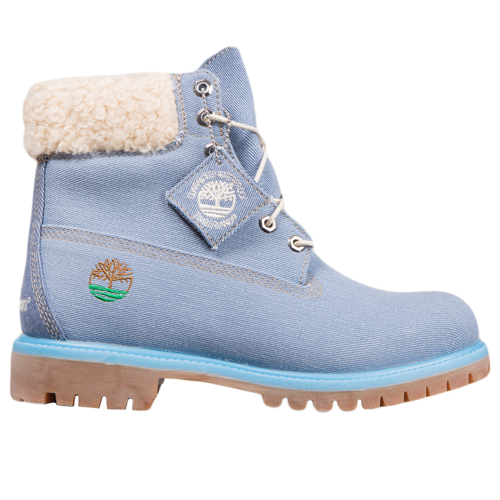 Just Don x Timberland 6 inch Waterproof Boot, Medium Blue Denim