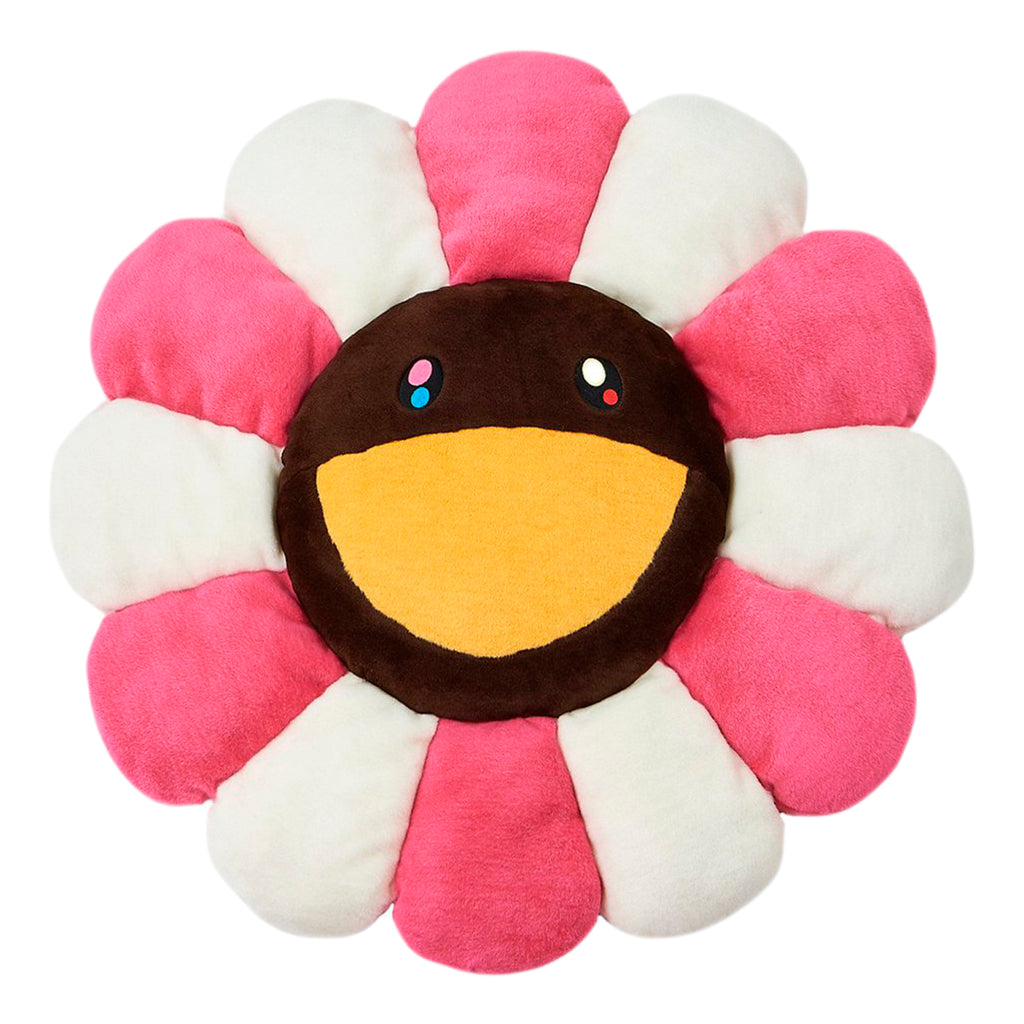 KaiKai KiKi Flower Cushion 1m, Pink/Brown