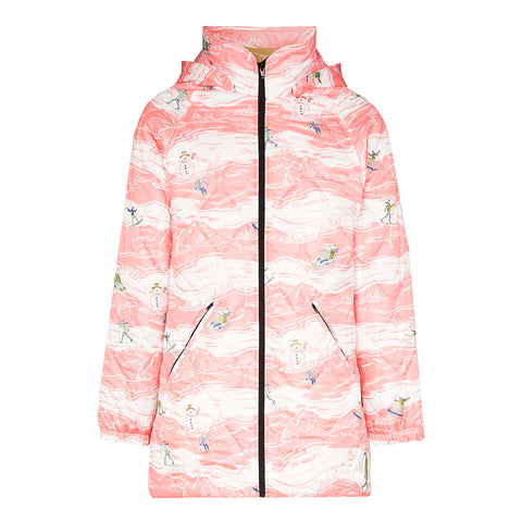 Martine Rose SS20 Quilted Track Jacket, Pink Ski