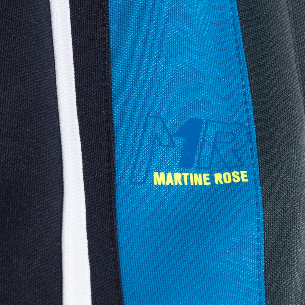 Martine Rose SS21 Twix Trackpant, Blue/Grey/Lime