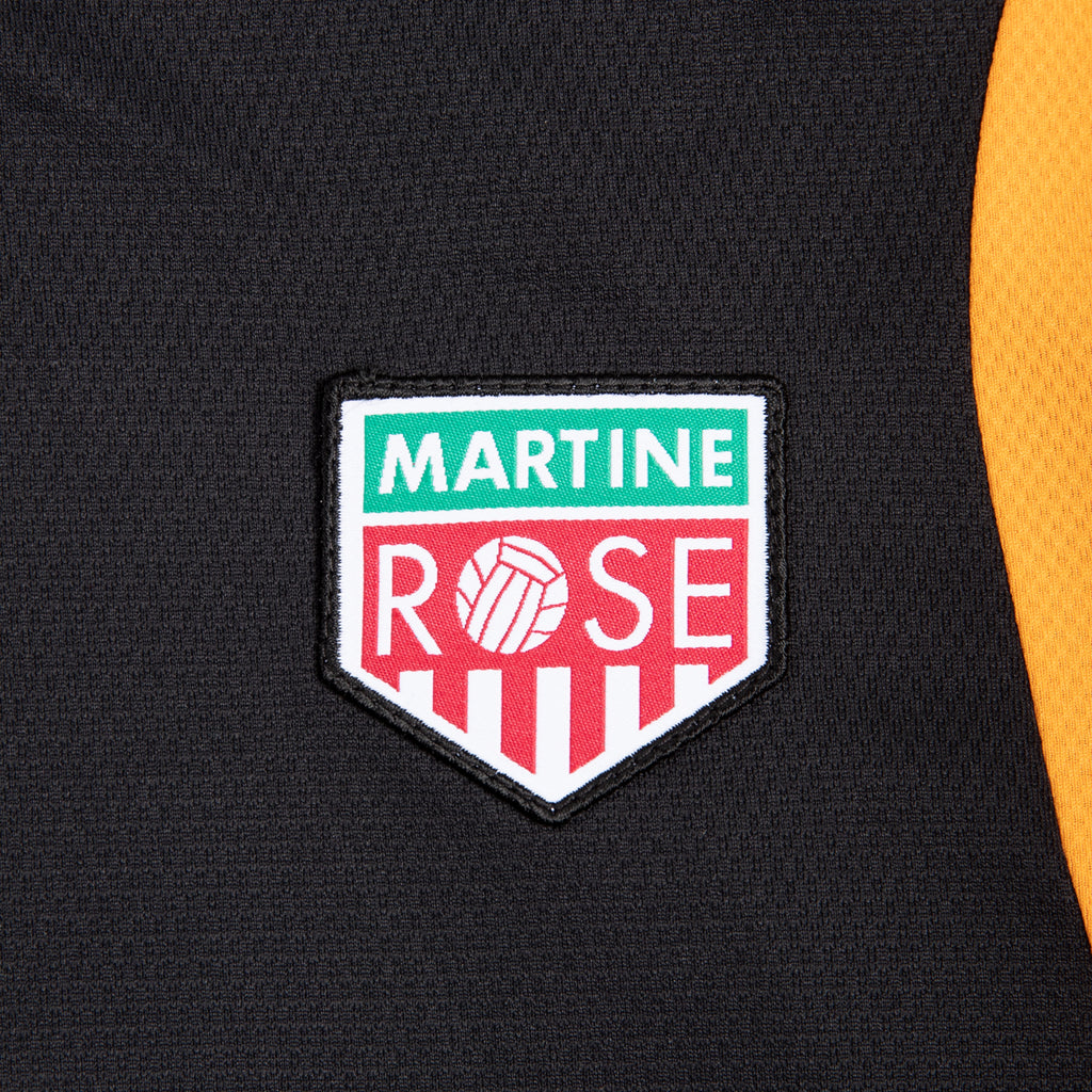 Martine Rose SS21 Revels Shirt, Black/Orange