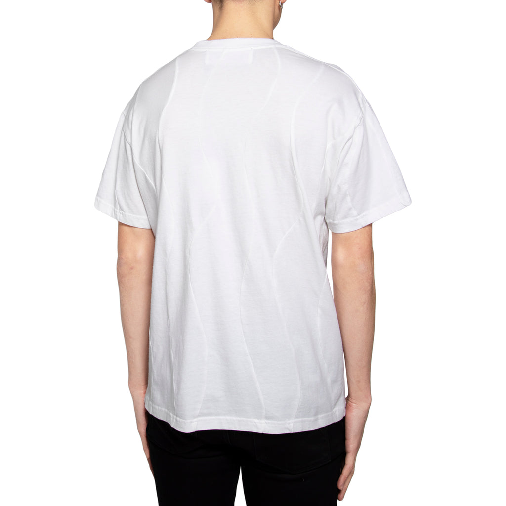 Martine Rose SS19 Wobbly T-Shirt, White