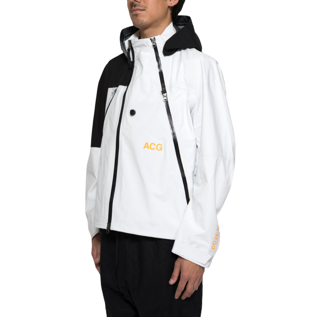 NikeLab ACG GORE-TEX® Deploy Jacket (White/Black)