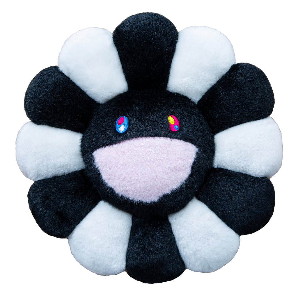 KaiKai KiKi Flower Cushion 1m, Black/White