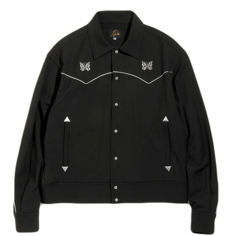 Needles FW20 Piping Cowboy Jacket, Black