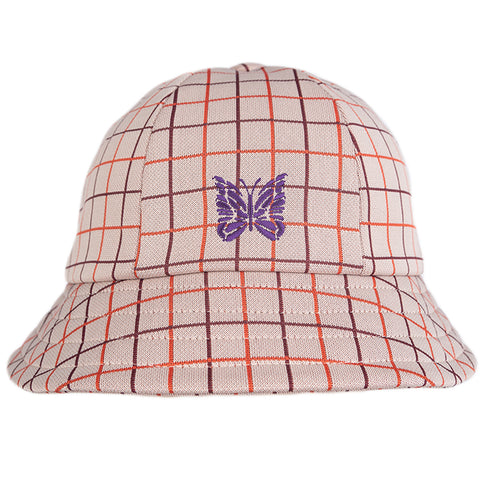 Needles FW20 Bermuda Hat, Plaid