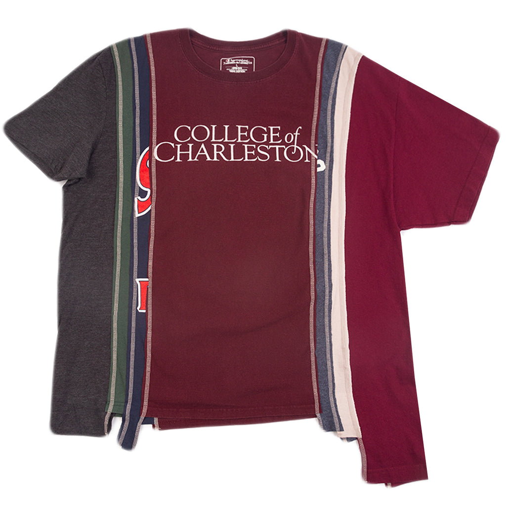 Needles FW20 College of Charleston 7 Cuts Wide Tee, Assorted