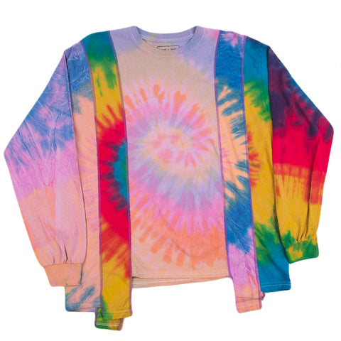 Needles FW20 Tie Dye 5 Cuts L/S Tee, Assorted
