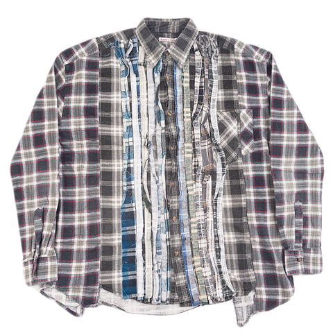 Needles FW20 Ribbon Wide Flannel Shirt #1, Assorted