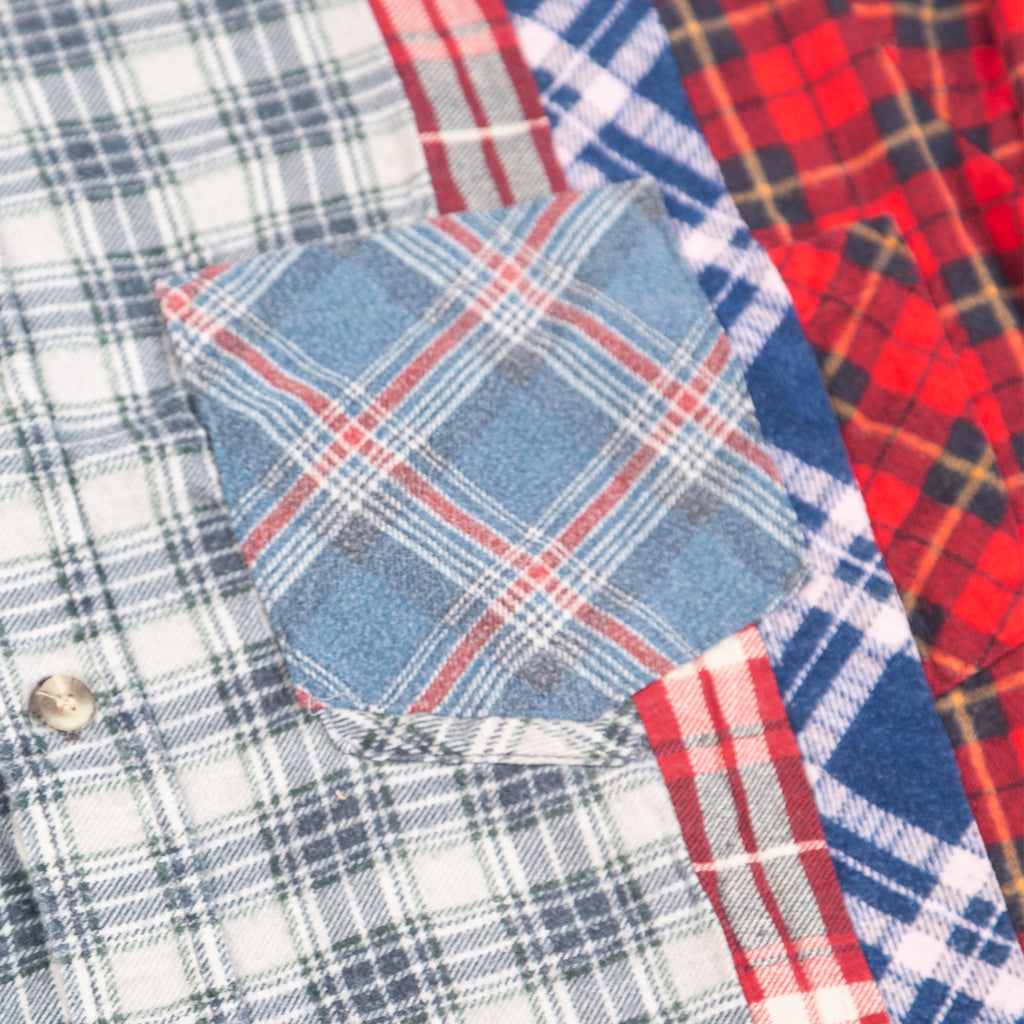 Needles FW20 7 Cuts Flannel Shirt #3, Assorted