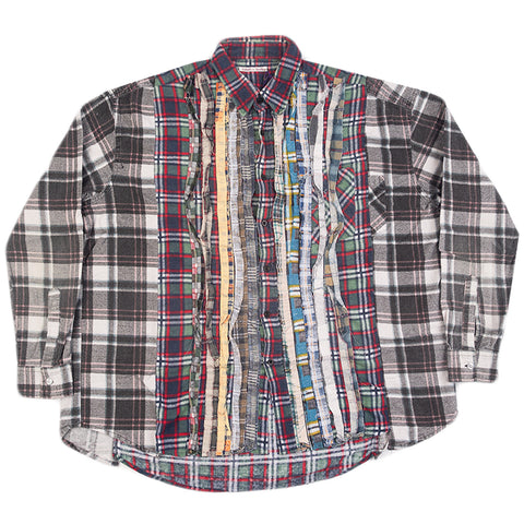 Needles FW20 Ribbon Wide Flannel Shirt #2, Assorted