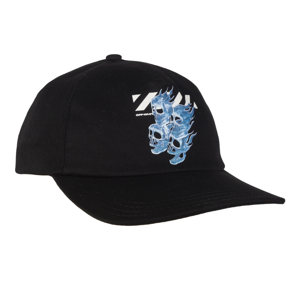 Off-White Skulls Baseball Cap , Black