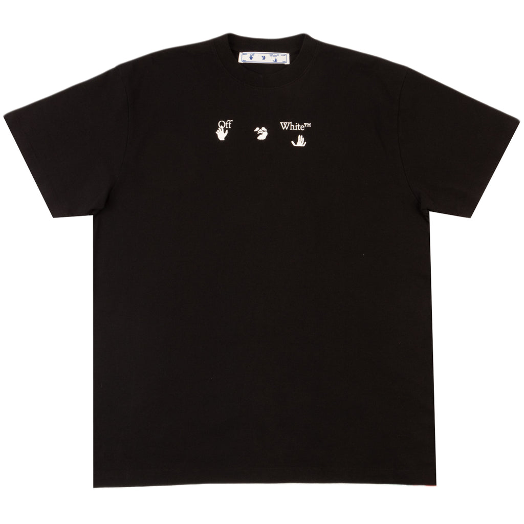Off-White PS21 Peace Worldwide S/S Over Tee, Black/Green