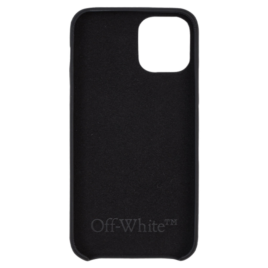 Off-White SS21  Caravaggio Boy iPhone Case, Black/Light Blue