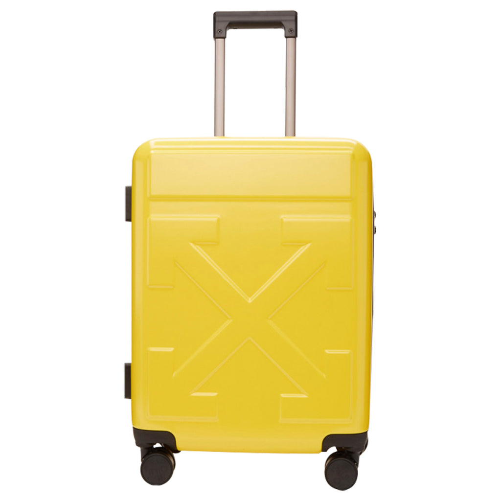 Off-White FW19 Arrow Trolley, Yellow/Yellow