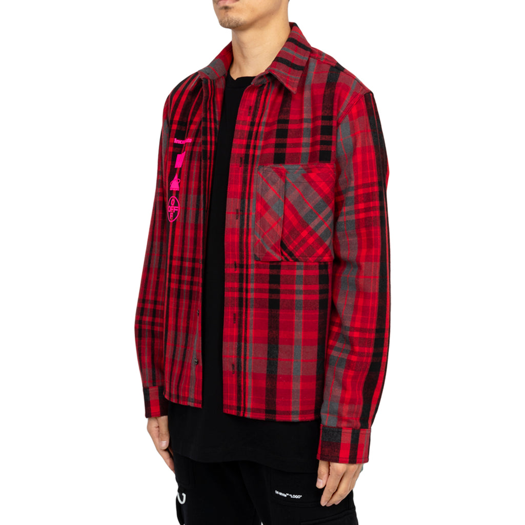 Off-White PF19 Mariana De Silva Shirt, Red