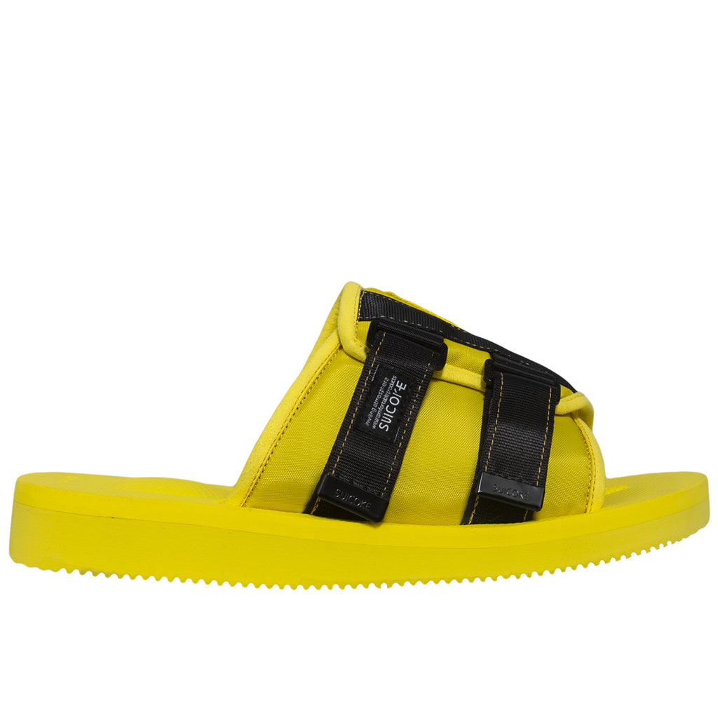 Palm Angels Suicoke Patch Slider, Yellow/Black