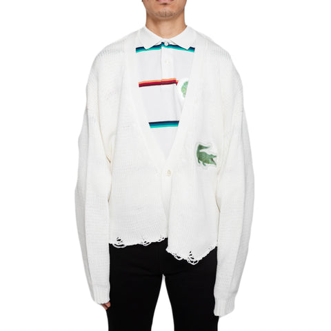 Doublet SS19 3D Patch Cut-Off Cardigan