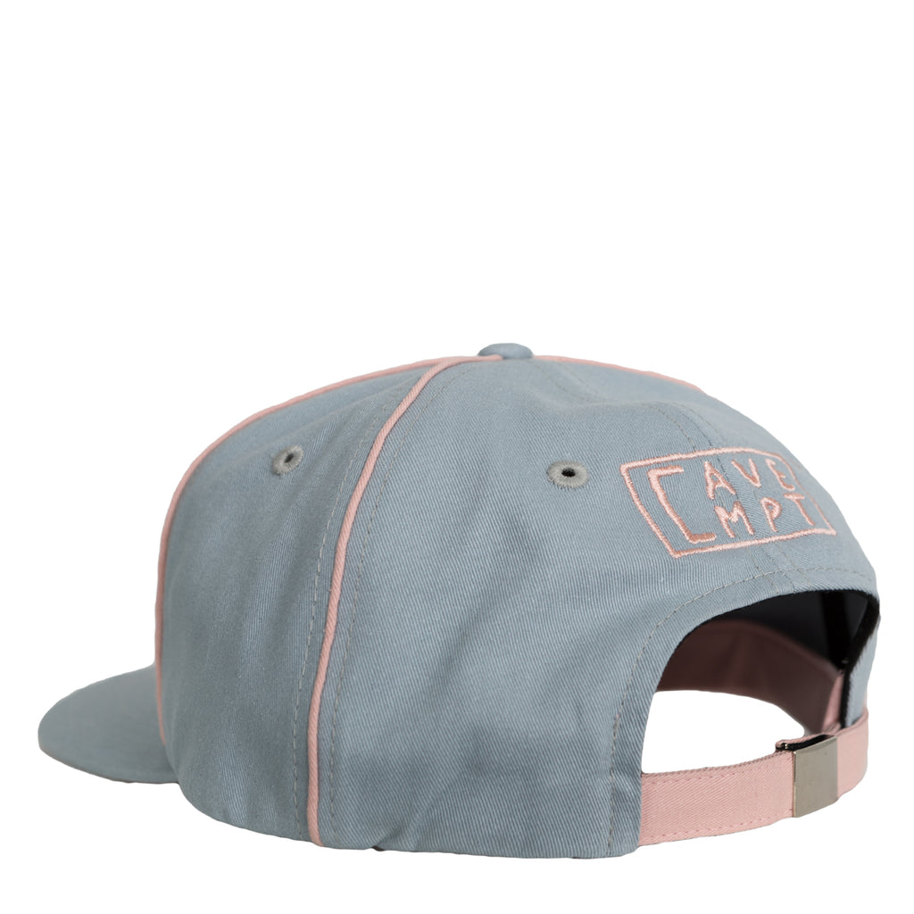 Cav Empt Pink Piping Low Cap (Blue)