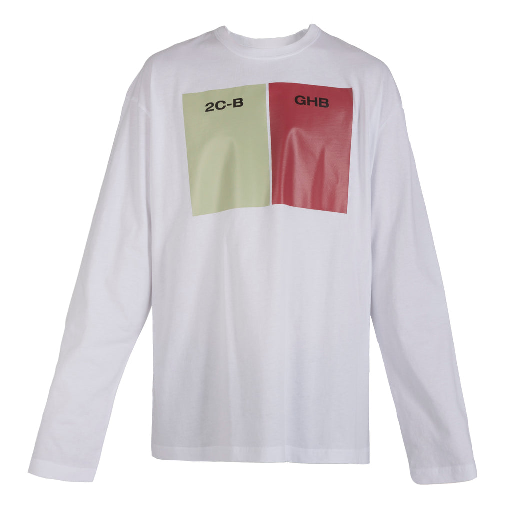 Raf Simons Long Sleeved T-Shirt 2CB-GHB 19000