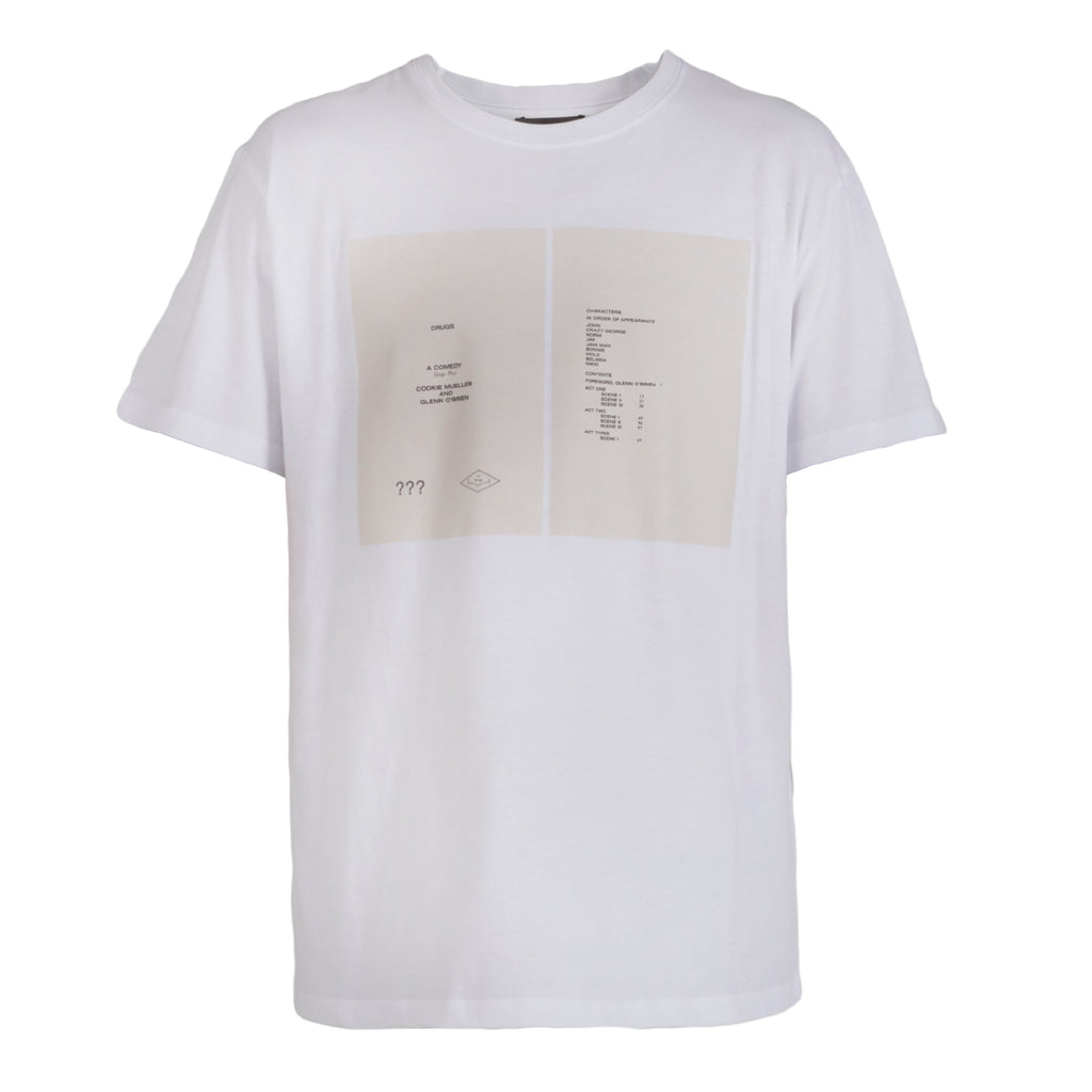 Raf Simons Slim Fit T-shirt Drugs Cover 19000