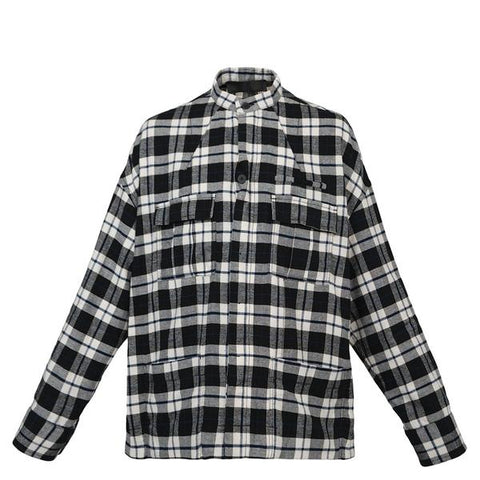 Haider Ackermann Turner Shirt (Black/White)