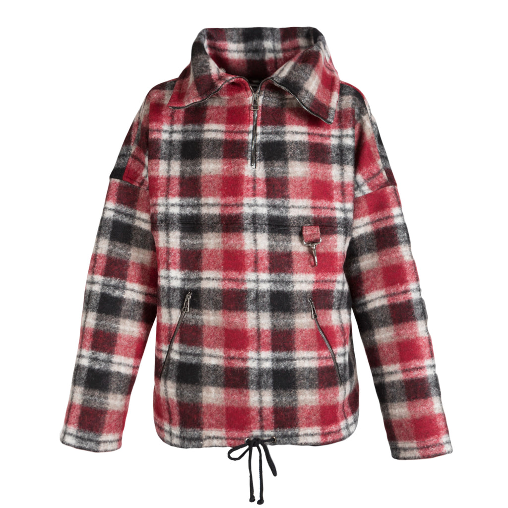 Reese Cooper Plaid Wool Anorak