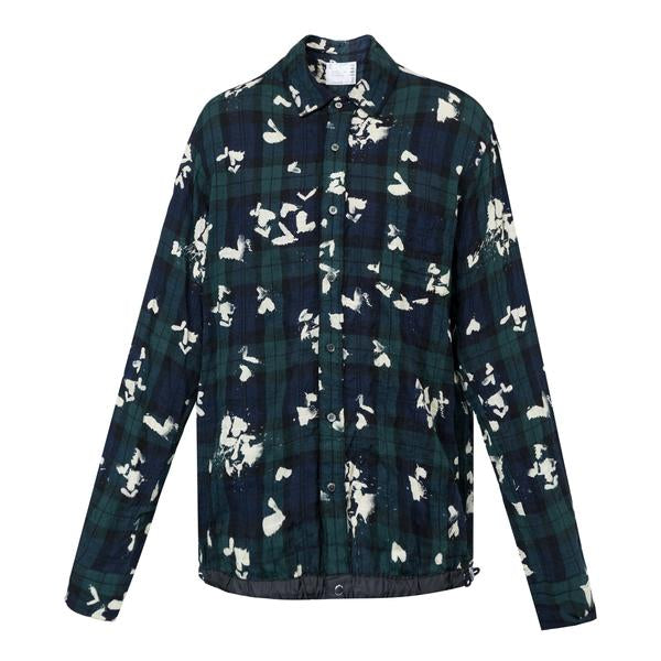Sacai Bleach Heart Print