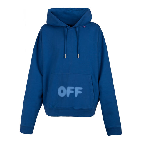 Off White Blurred off over hoodie