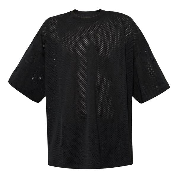 Fear Of God Mesh Oversized Tee, Black