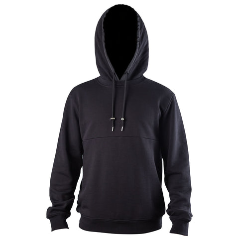 Raf Simons Cut Out Print Hoodie (Black)