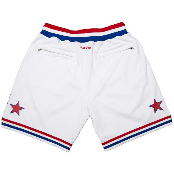 Just Don® M&N 88 All-Star Shorts (White)