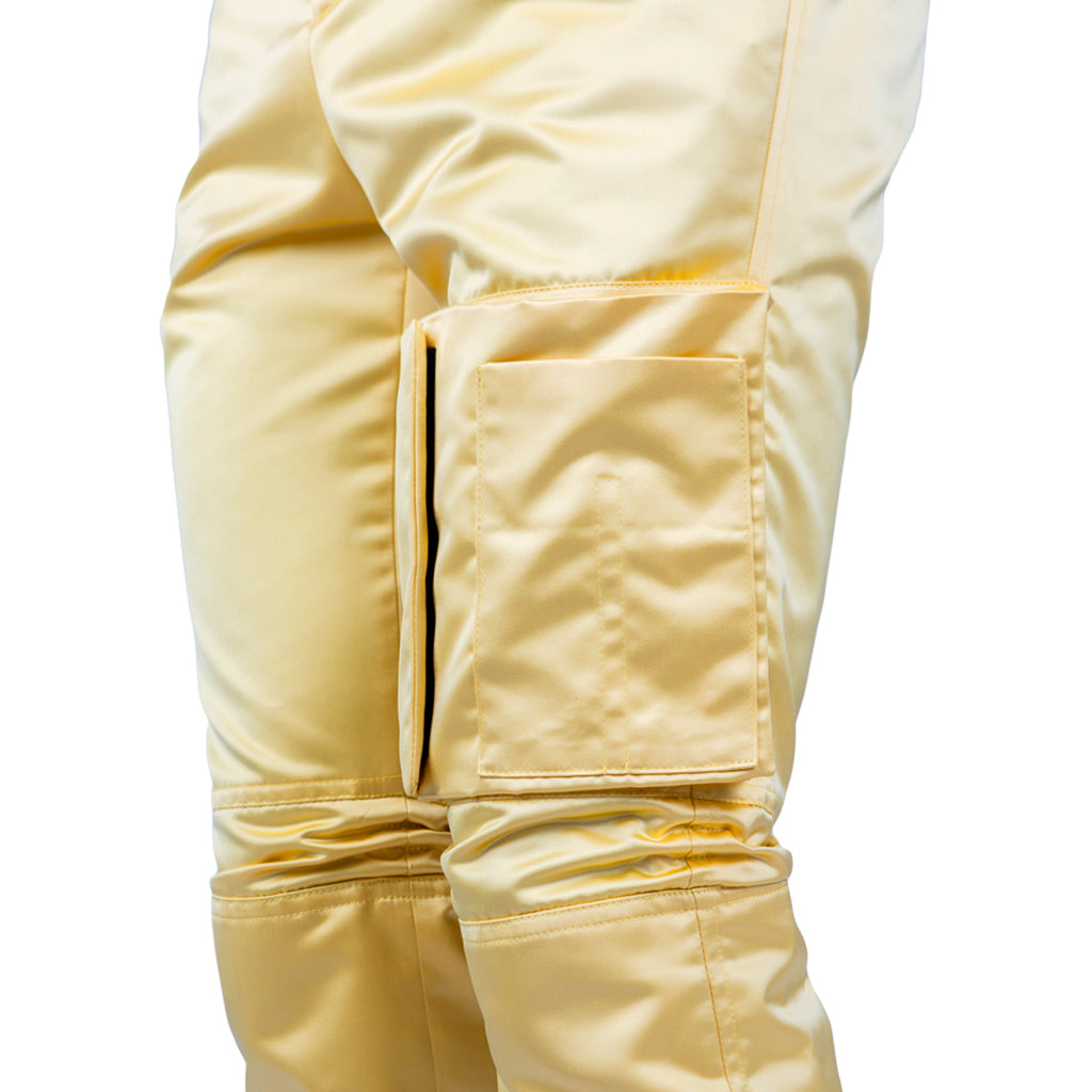 Raf Simons Slim space pants with pockets, Yellow