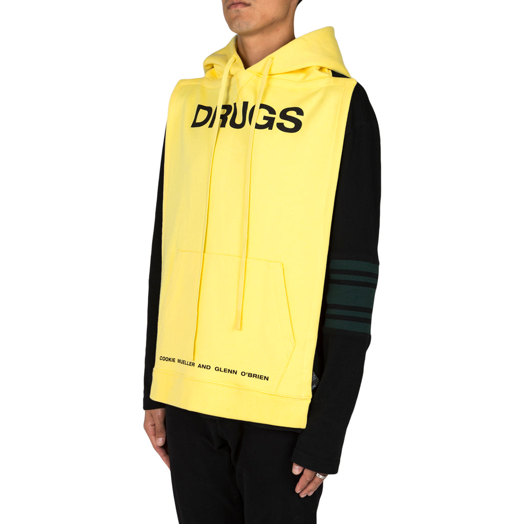 Raf Simons Pannels Drugs, Yellow
