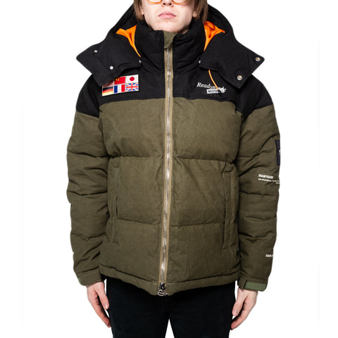 READYMADE Down Jacket, Green