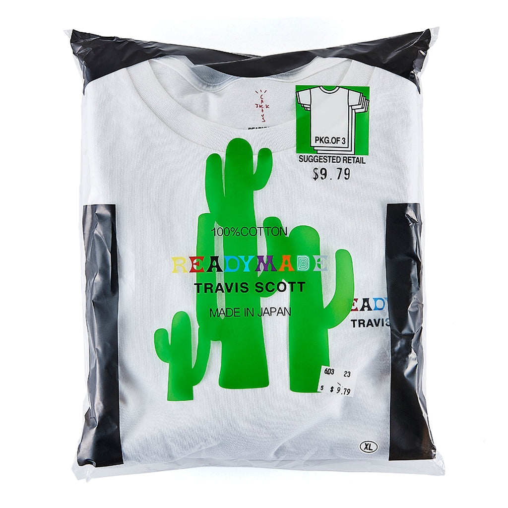 Ready Made x Travis Scott T-Shirt 3 pack, White