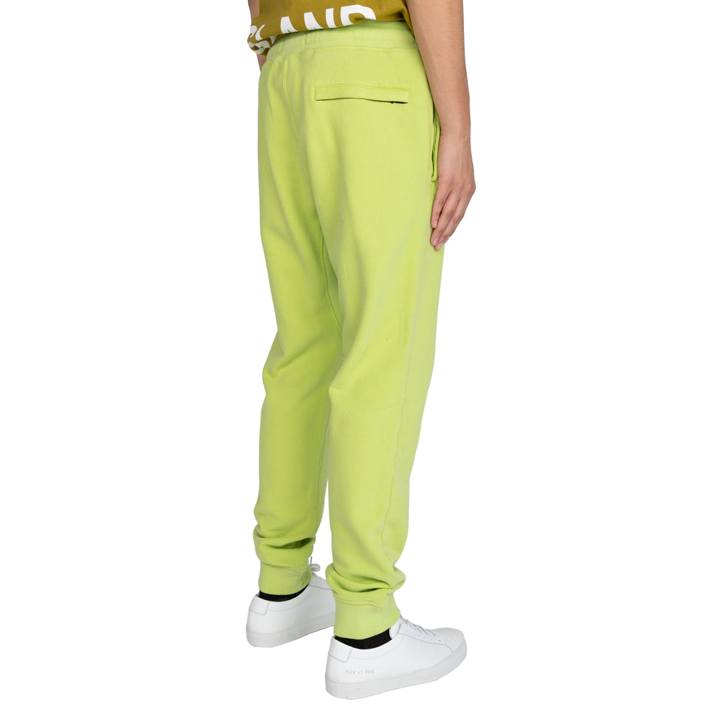 Stone Island FW19 Fleece Pants, Pistachio Green