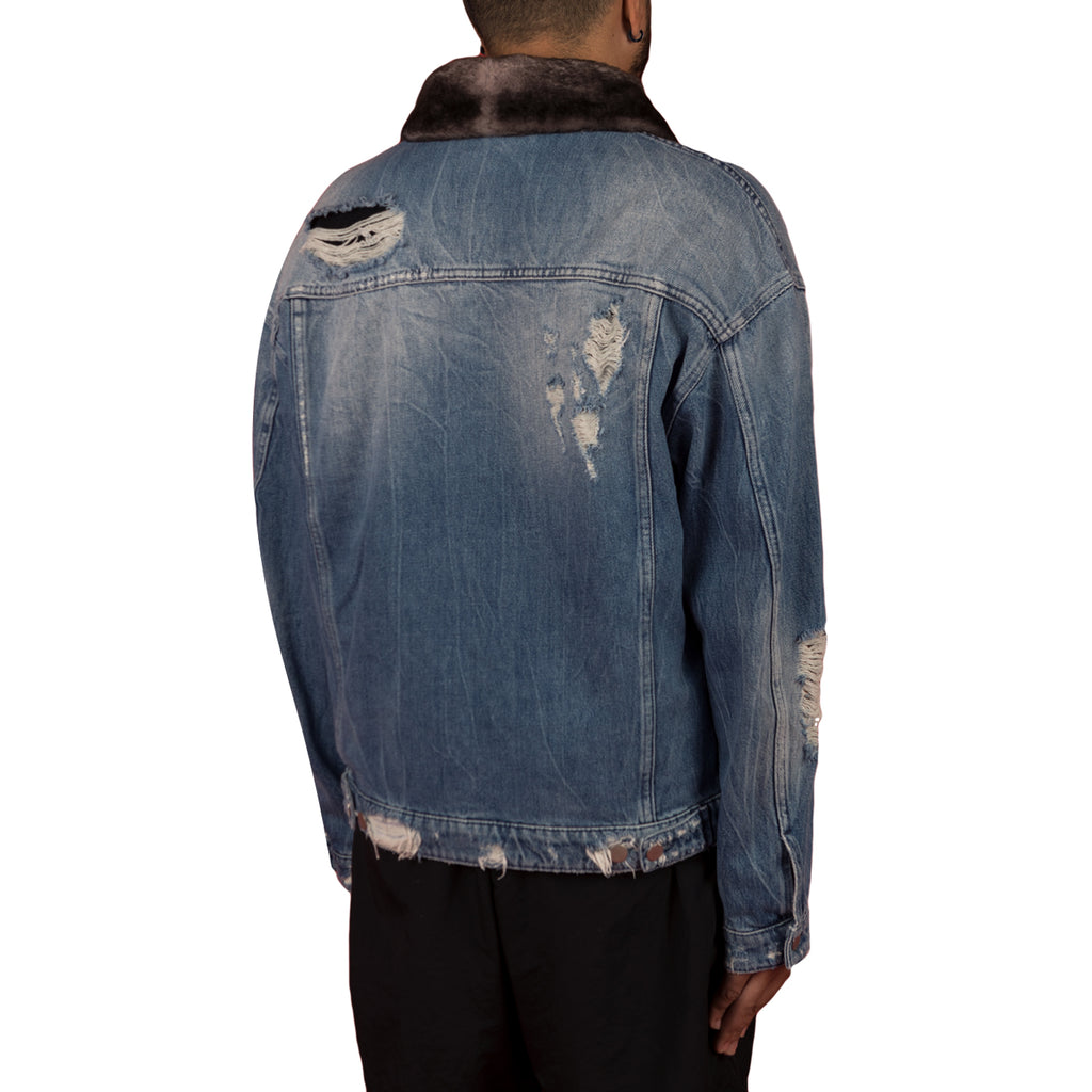 Alchemist Rocky 2 Jacket W/ Grey Fur Collar