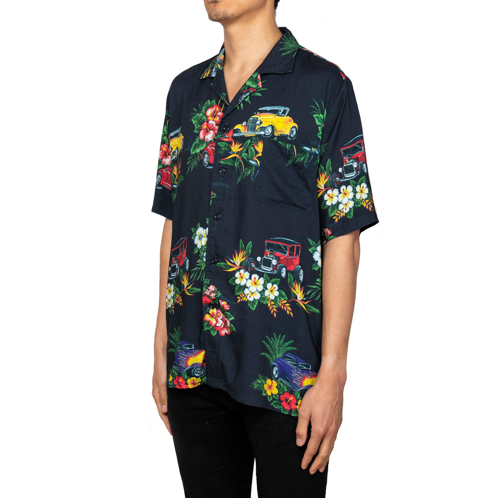 Rhude SS19 Hawaiian Shirt Girl