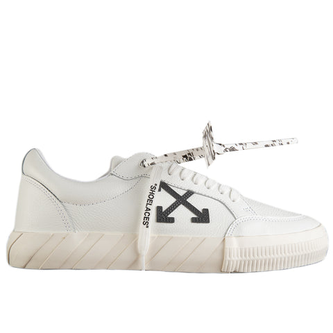 Off-White PF20 Low Vulcanized Leather, White/Iridescent