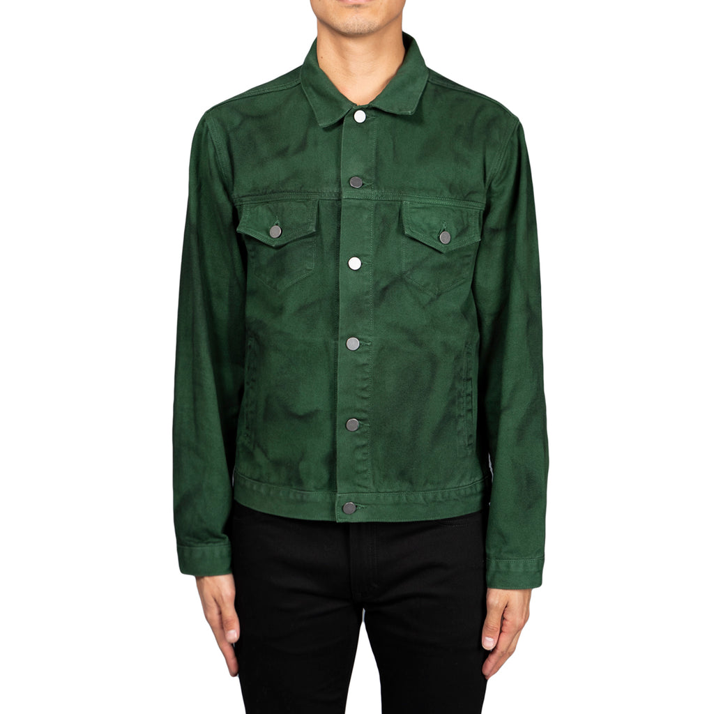 424 AW18 Painted Trucker, Green