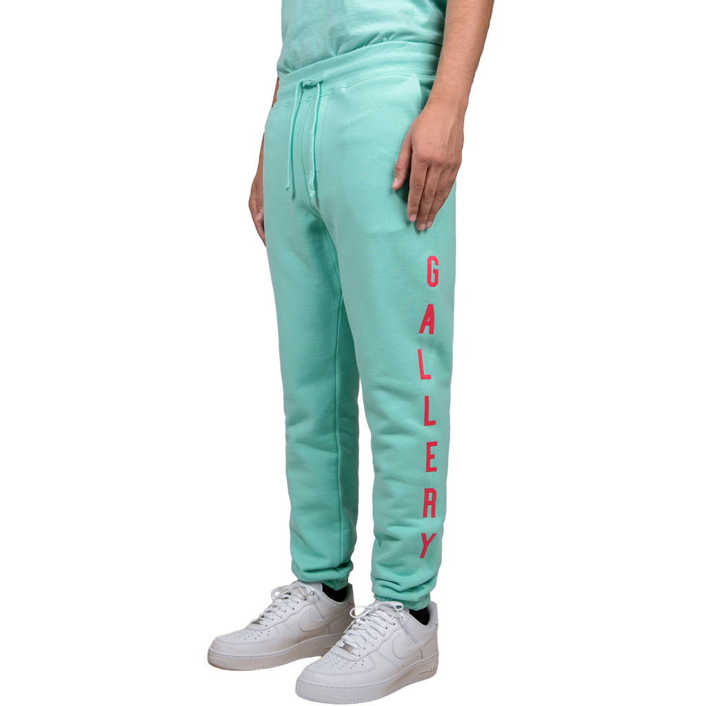 RSVP Gallery FW18 Twill Sweatpants, Teal