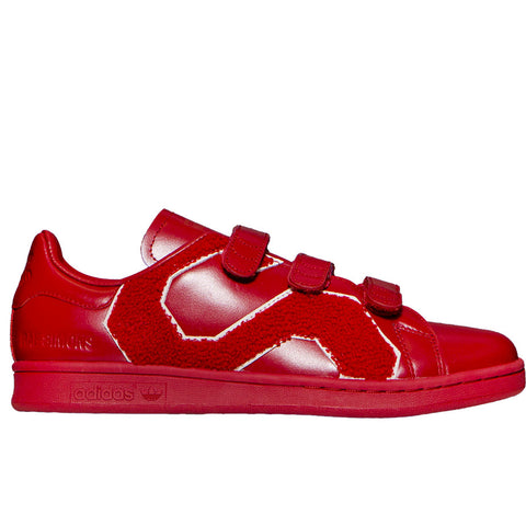 Adidas x Raf Simons Stan Smith Comfort Badge (Red)