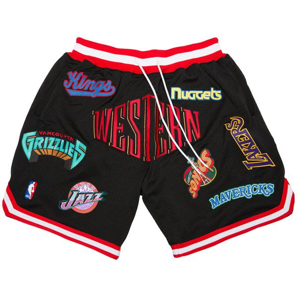 Just Don® M&N Western Conference Shorts (Black)