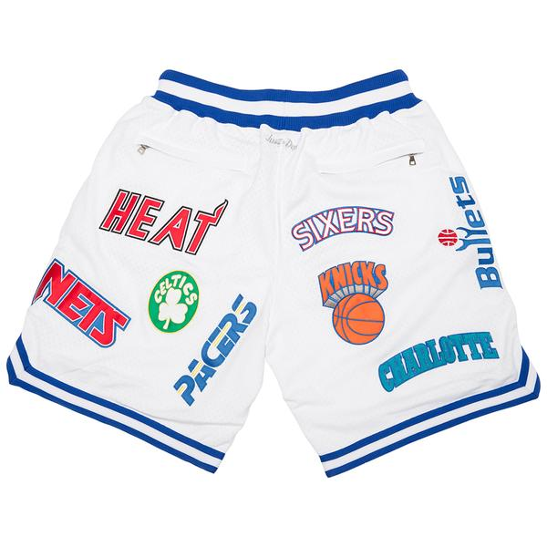 Just Don® M&N Eastern Conference Shorts (White)
