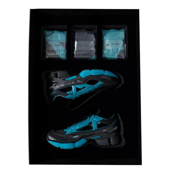 adidas by Raf Simons REPLICANT OZWEEGO, CORE BLACK/ COLONIAL BLUE/ CORE BLACK