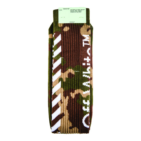 Off-White Diag Socks (Camo) OS