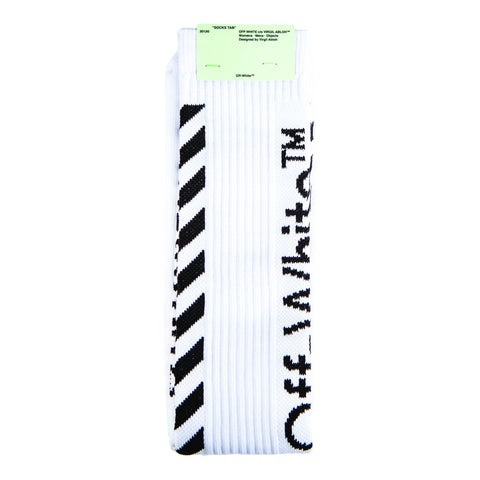 Off-White Diag Socks (White) OS