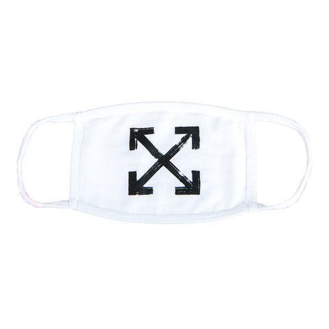 Off-White Arrows Mask (White) OS